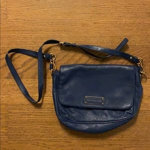 Marc by Marc Jacobs Blue Leather Bag